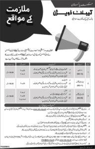 Cantt Division Islamabad Govt Of Pakistan Job 2019