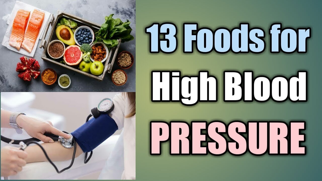 To 15 Best Foods for High Blood Pressure